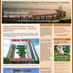 Ongoing Residential Projects In Mumbai