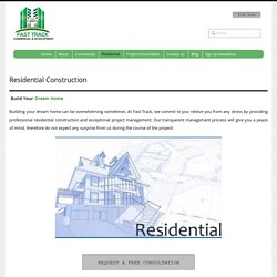 Residential Construction Ontario