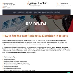 Residential - Dynamic Electric