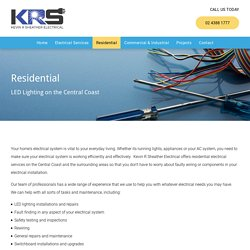 Residential Electrical Services on the Central Coast