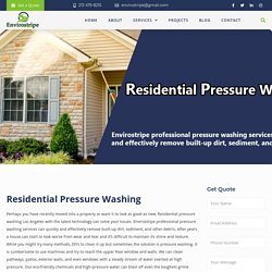 Residential Pressure Washing Los Angeles – EnviroStripe