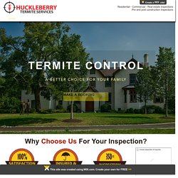 Residential Inspection and Termite Treatment