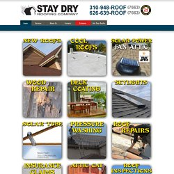 Los Angeles Roofing Services - Los Angeles Roofing Contractor