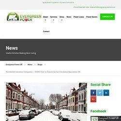 Residential Insulation Companies – Best Spray foam Insulation uk