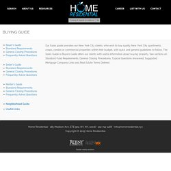 Home Residential NYC - Sales, Rentals & Investment Properties