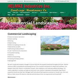 Corporate Landscaping Bergen County