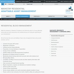 Residents' Management Company
