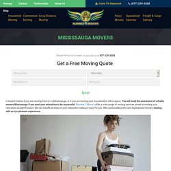 Commercial Office Condo Furniture Movers, Local Residential Apartment Long Distance Cross Country Movers & Moving Company Mississauga