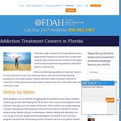 Residential Drug Treatment Florida