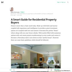 A Smart Guide for Residential Property Buyers