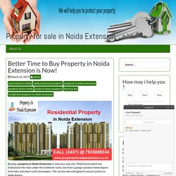 Buy Residential Property in Noida Extension