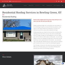 Residential Roofing in Bowling Green, KY