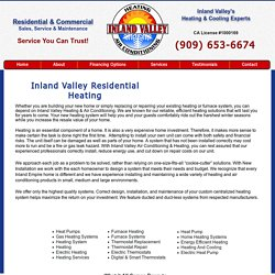 Residential Heating Furnace Heat Pumps Repair Service Thermostats