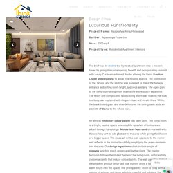 Luxurious & Functional Interiors - Think Studios
