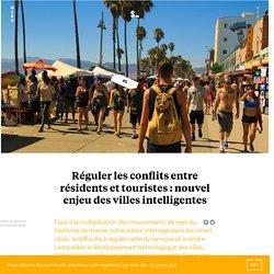 Réguler les conflits entre résidents et touristes : nouvel enjeu des villes intelligentes