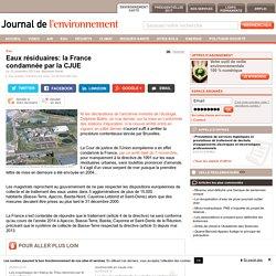 JDLE 12/11/13 Eaux résiduaires: la France condamnée par la CJUE