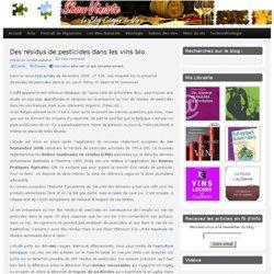 TESTS ACHATS - DEC 2008 - Des résidus de pesticides dans les vins bio