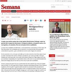 Antonio Caballero Resignación y miedo, Opinión