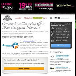 Resiliation Bouygues Lettre Sovada Md