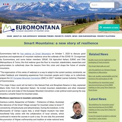 Smart Mountains: a new story of resilience - Euromontana