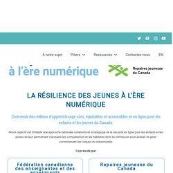 La résilience des jeunes à l'ère numérique / Fédération canadienne des enseignantes et des enseignants, février 2021