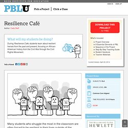 Resilience Café | Making Projects Click