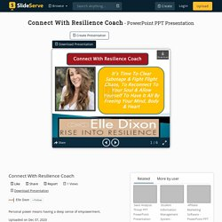 Connect With Resilience Coach