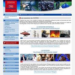 """Session Nationale """"Résilience et Sécurité Sociétales"""" - Haut Comité Français pour la Défense Civile"""