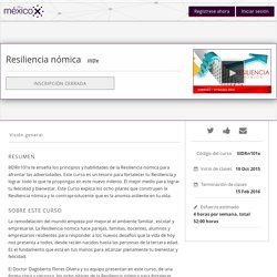 Resiliencia nómica