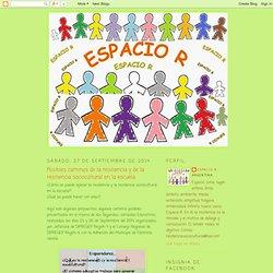 Espacio R: Posibles caminos de la resiliencia y de la resiliencia sociocultural en la escuela.