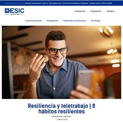 hábitos resilientes que debes poner en práctica