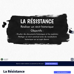 La Résistance by cecdublac on Genially