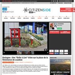 Bretagne : Une Boîte à Lire trône sur la place de la Résistance de Loudéac - Culture