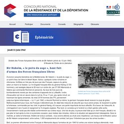 Concours National de la Résistance et de la Déportation