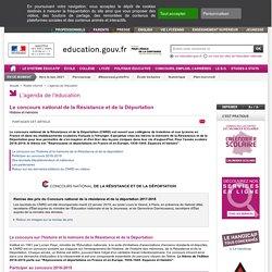 Concours National de la Résistance et de la Déportation 2013-2014