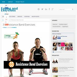 33 Resistance Band Exercises ~ Eating and Exercises