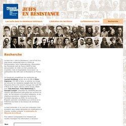Recherche - Juifs en résistance - Exposition virtuelle - Mémorial de la Shoah