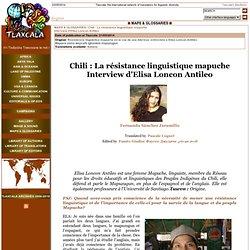Chili résistance linguistique mapuche