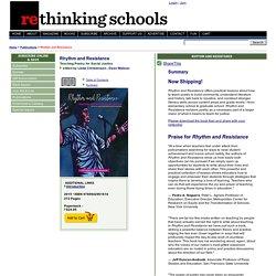 Rhythm and Resistance - Rethinking Schools Online