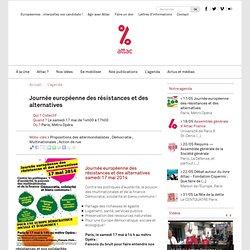 Journée européenne des résistances et des alternatives