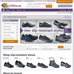 SHOES FOR CREWS® - The Shoe That Grips® : Slip-Resistant Footwear, Mats and Overshoes