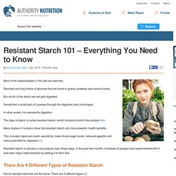 Resistant Starch 101 - Everything You Need to Know