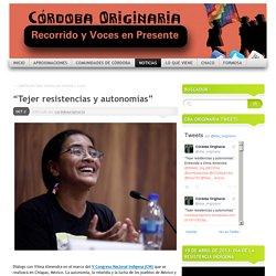 """""""Tejer resistencias y autonomías"""""""