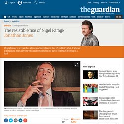 The resistible rise of Nigel Farage