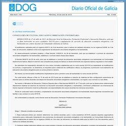 Resolución do DOG nº 142 do 2015/7/29 - Xunta de Galicia