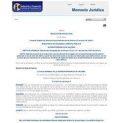 RESOLUCIÓN 400 DE 1995
