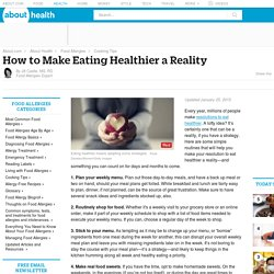 How to Make Your New Year's Resolution to Eat Healthier Stick