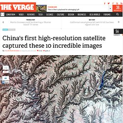 China's first high-resolution satellite captured these 10 incredible images
