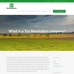 Tax Resolution in Orange County