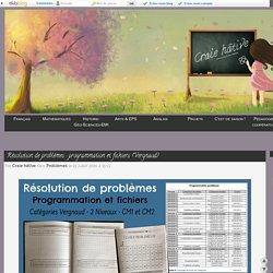 Résolution de problèmes : programmation et fichiers (Vergnaud)
